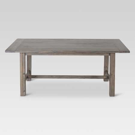 Parsons 60 Wood Dining Table Brown Threshold Target