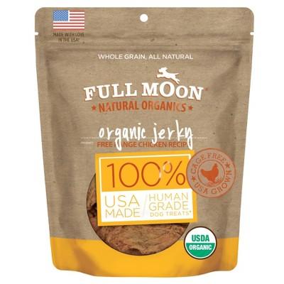 Full Moon Organic Jerky Chicken Recipe Dog Treats - 16oz