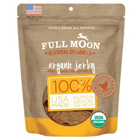 Full Moon Organic Jerky Chicken Recipe Dog Treats - 16oz - image 1 of 4