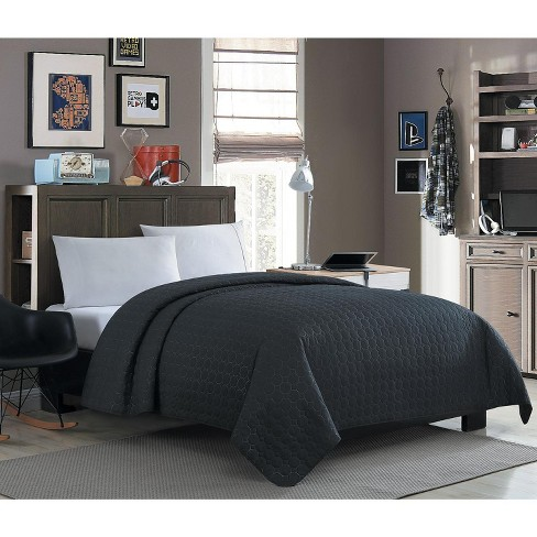 VCNY Home Jackson Circle Solid Textured Quilt - image 1 of 2