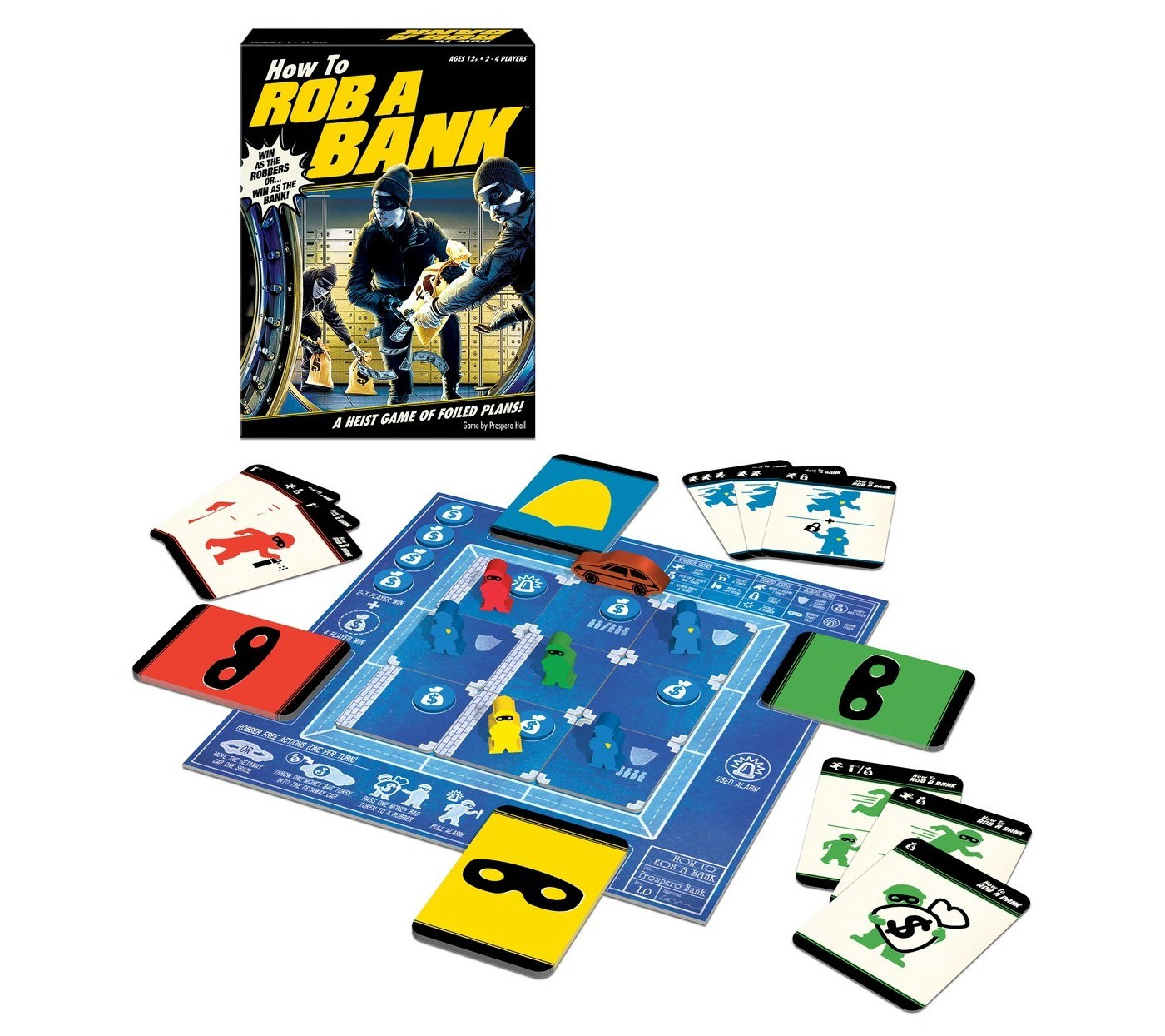 How to Rob a Bank Board Game - image 2 of 4