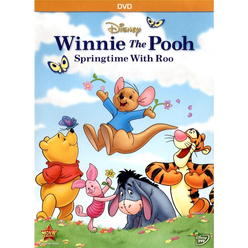 Winnie The Pooh Springtime With Roo Dvd