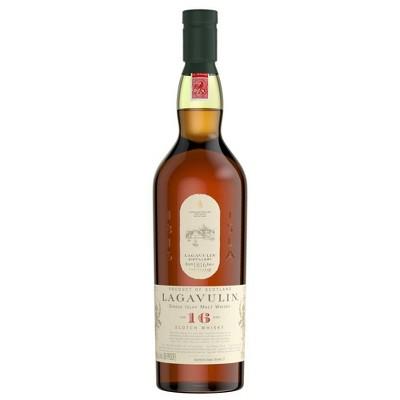 Lagavulin 16yr Islay Single Malt Scotch Whisky - 750ml Bottle