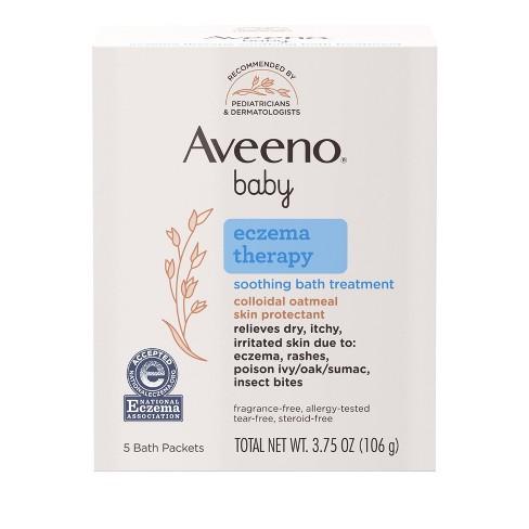 Aveeno Baby Soothing Bath Treatment - 3.75oz - 5ct - image 1 of 4