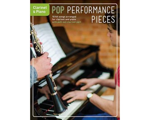 Pop Performance Pieces : Clarinet & Piano (Paperback) - image 1 of 1
