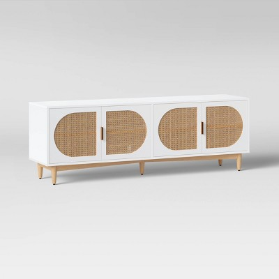 """Organic Caned TV Stand for TVs up to 65"""" - Project 62™"""
