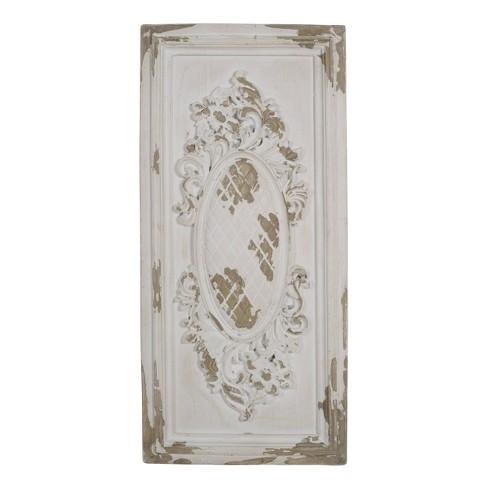 Alcott Single Decorative Wall Panel White - A&B Home - image 1 of 1
