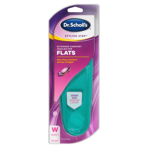Dr. Scholl's Stylish Step Extended Comfort Insoles For Flats - Size (6-10) - image 1 of 2