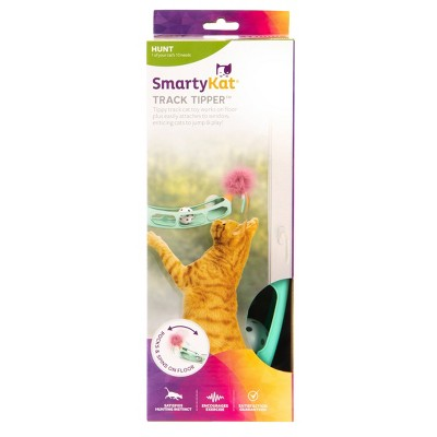 SmartyKat Track Tipper Suction Cup Ball Cat Toy