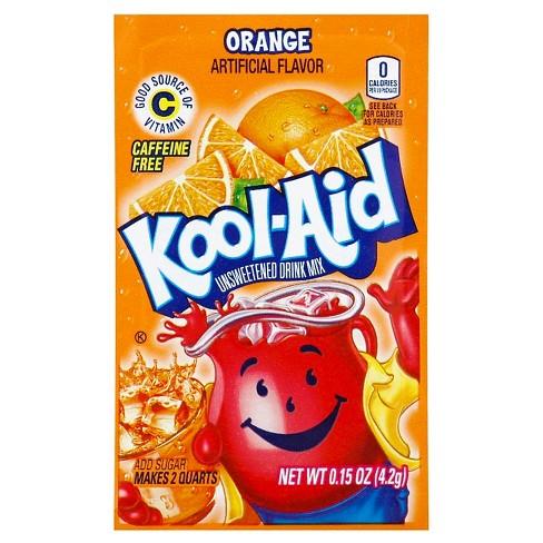 Kool-Aid Orange Drink Mix - 0.15oz - image 1 of 1