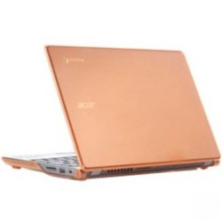 iPearl mCover Chromebook Case - For Chromebook - Orange - Shatter Proof - Polycarbonate