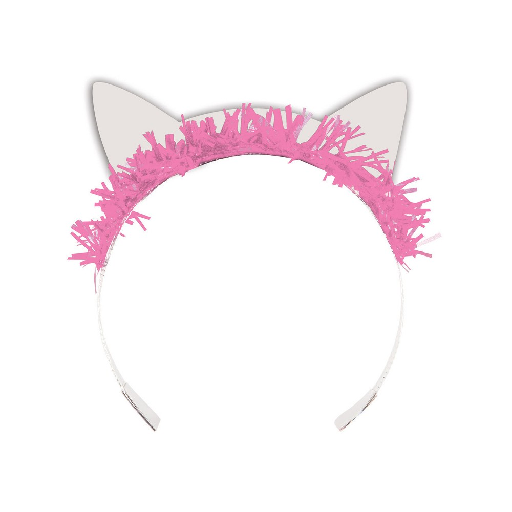 Image of 8ct Cat Party Tiara, Kids Unisex