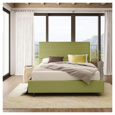 Prana Upholstered Bed   Amisco