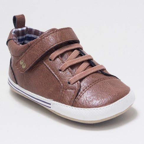 9949159a4 Baby Boys' Surprize By Stride Rite Lee Sneaker Mini Shoes - Brown : Target