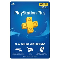 PlayStation Plus 12 Month Membership (Digital)
