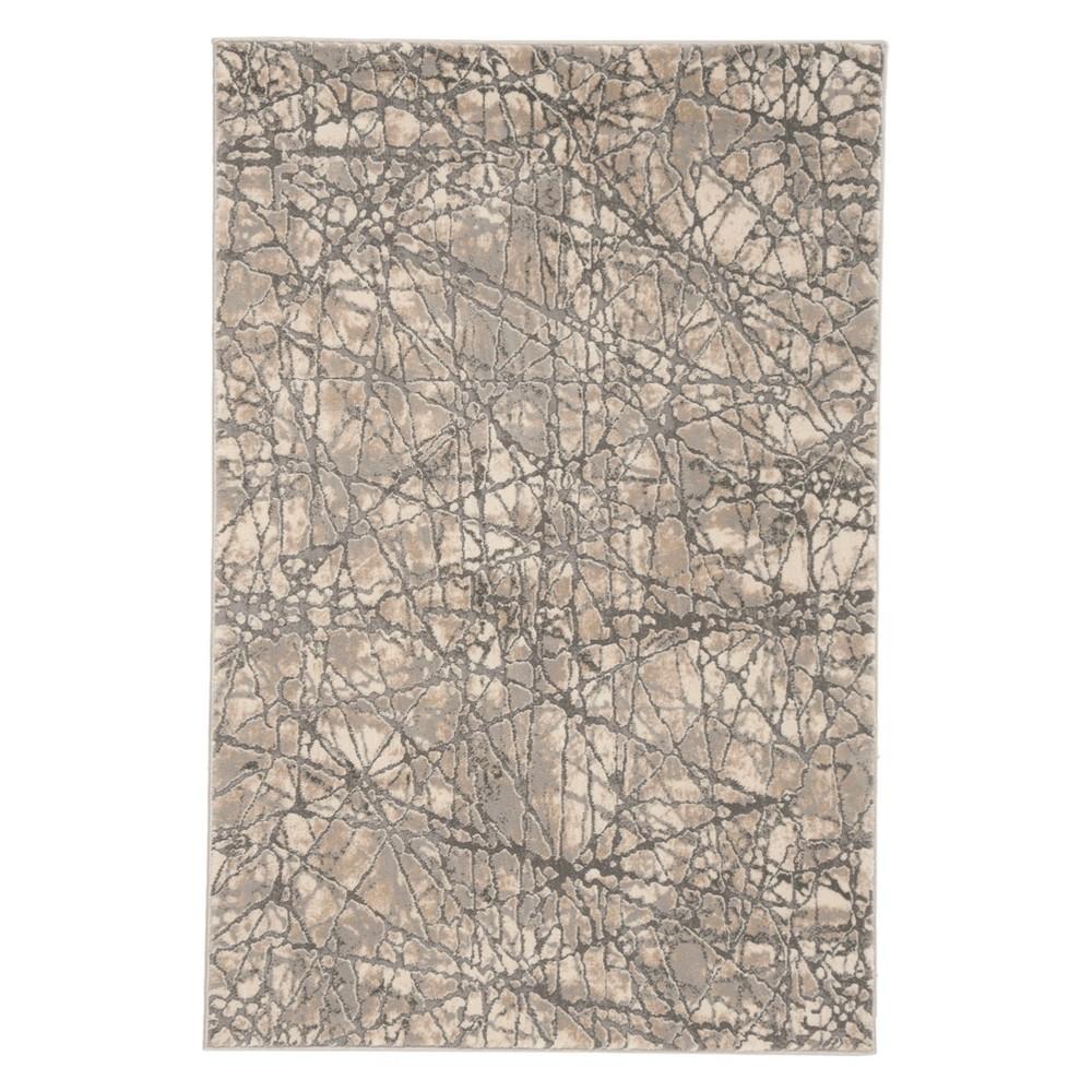 4'X6' Solid Area Rug Beige/Gray - Safavieh