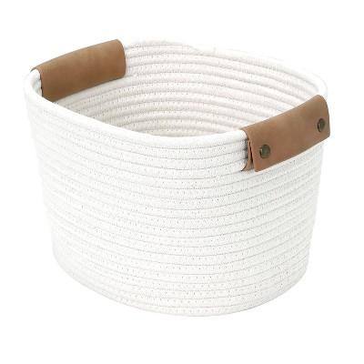 11  Square Base Tapered Basket Medium Cream - Threshold™