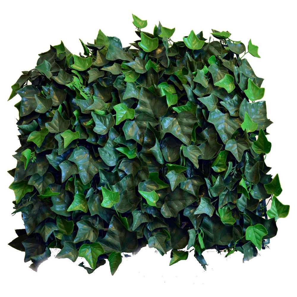 Image of Greensmart Decor Artificial Ivy Panel Set of 4 - Green