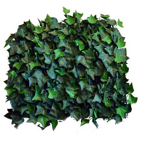 Greensmart Decor Artificial Ivy Panel Set of 4 - Green - image 1 of 6