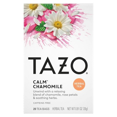 Tazo Calm Chamomile Herbal Tea - 20ct