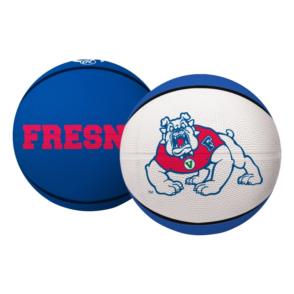 Fresno State Bulldogs Rawlings Full Size Crossover Basketball