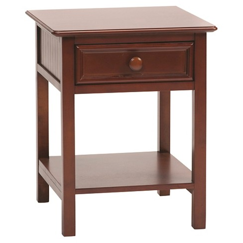Wakefield 1-Drawer Nightstand Cherry - Bolton Furniture - image 1 of 1