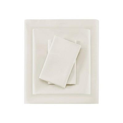 Liquid Cotton Sheet Set (Queen)Ivory