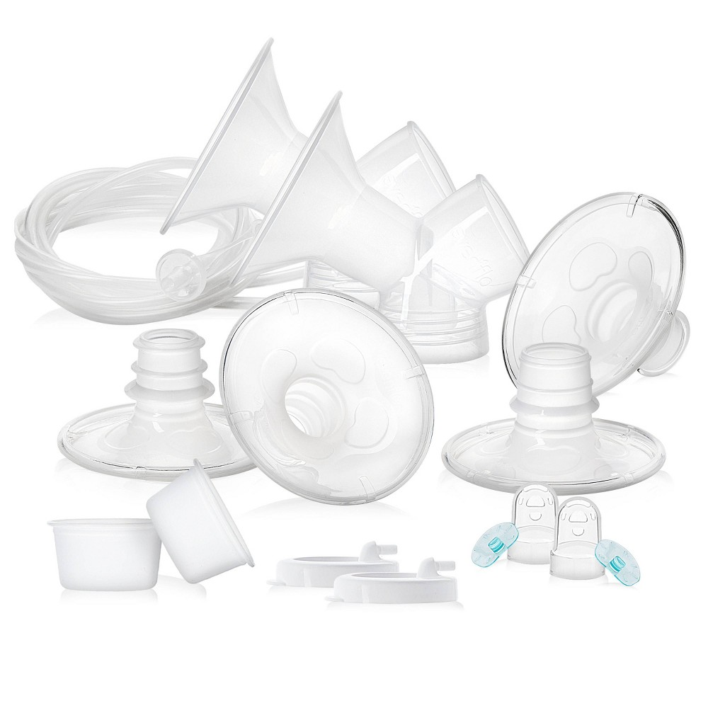 Image of Evenflo Advanced Double Electric Replacement Parts Kit, Clear