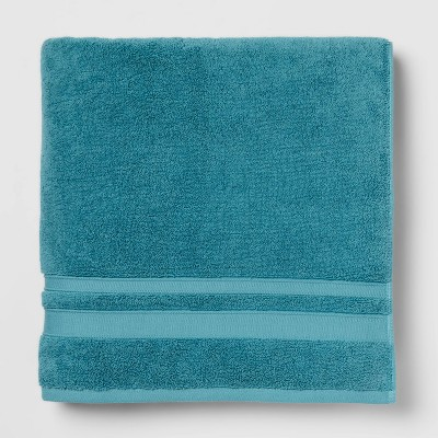 Performance Bath Sheet Turquoise - Threshold™