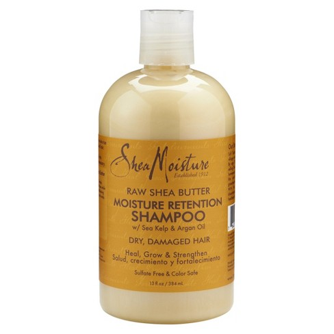 SheaMoisture Raw Shea Butter Moisture Retention Shampoo - 13 fl oz - image 1 of 3