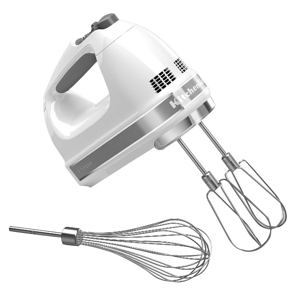 KitchenAid 7-Speed Digital Hand Mixer – KHM7210, White 14905820