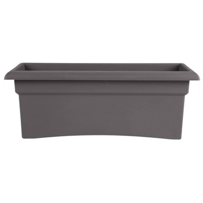 "26"" x 11"" Veranda Rectangular Window Deck Box Planter - Bloem"