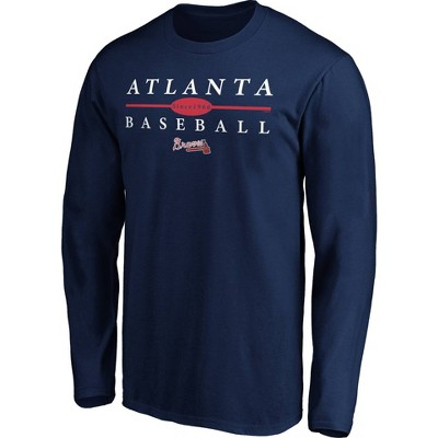 MLB Atlanta Braves Men's Long Sleeve Core T-Shirt