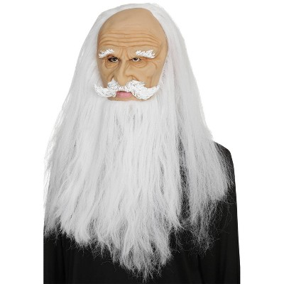 Adult Wizard Halloween Mask