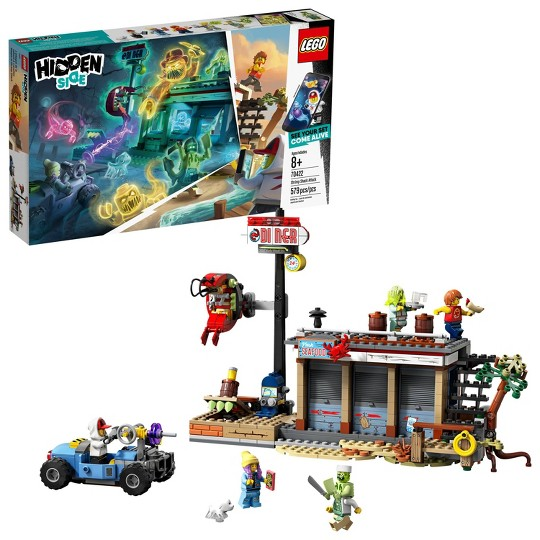 LEGO Hidden Side Shrimp Shack Attack 70422 Augmented Reality (AR) Tech Toy Building Set 579pc image number null