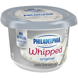 Philadelphia Whipped Cream Cheese Tub - 8oz