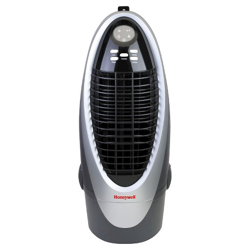 Honeywell -  21 Pt. Indoor Portable Evaporative Air Cooler with Remote Control - Silver/Gray - image 1 of 3