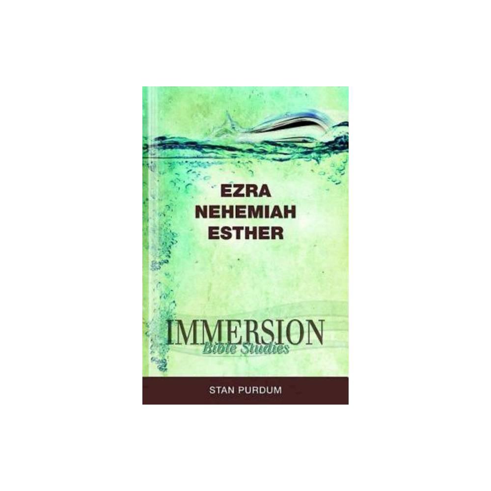 Immersion Bible Studies Ezra Nehemiah Esther Paperback
