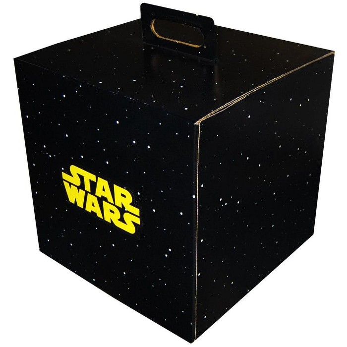 """Wisconsin Packaging Corporation Star Wars 9.5"""" x 9.5"""" x 9.5"""" Flat Empty Gift Box - image 1 of 1"""