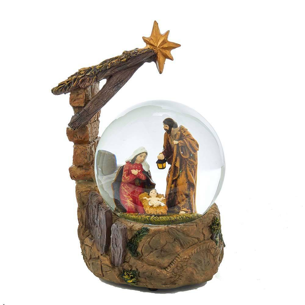 Image of 100mm Kurt Adler Musical Nativity Water Globe