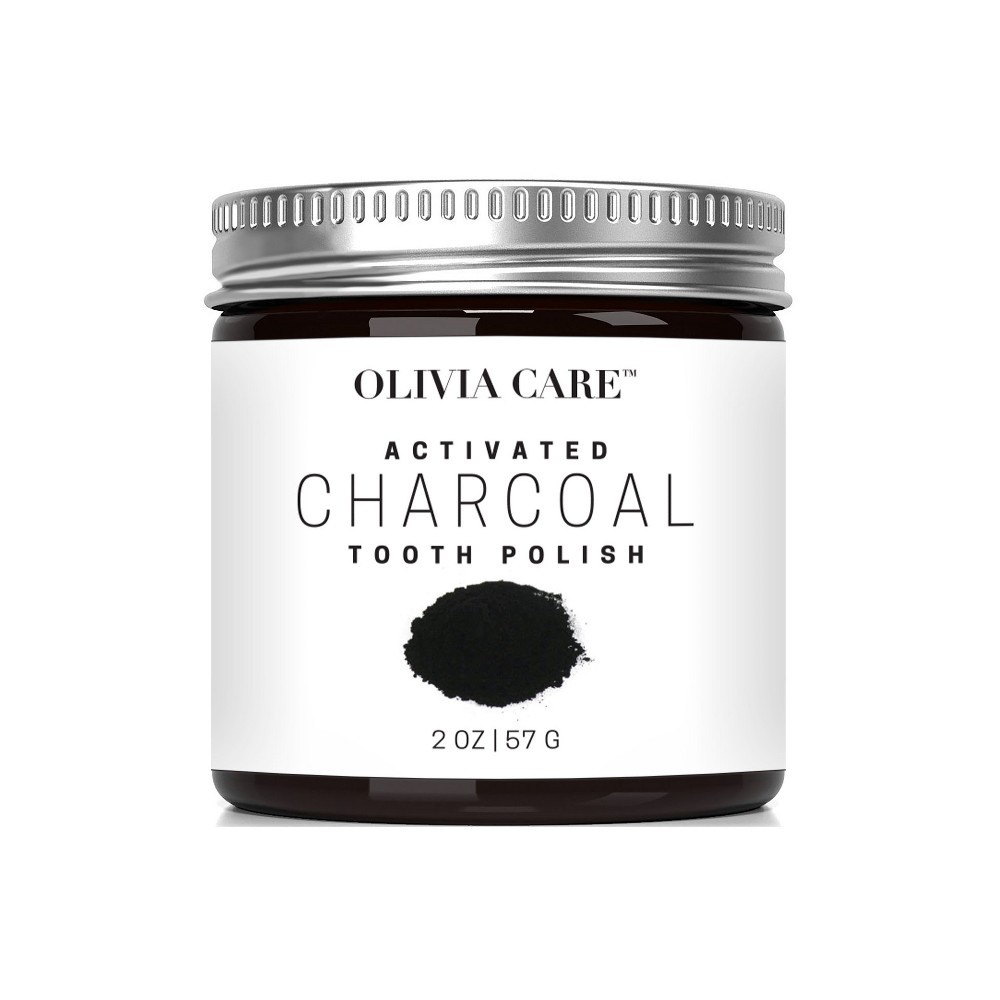 Image of Activated Charcoal Tooth Polish Whitening Powder Original - 2oz