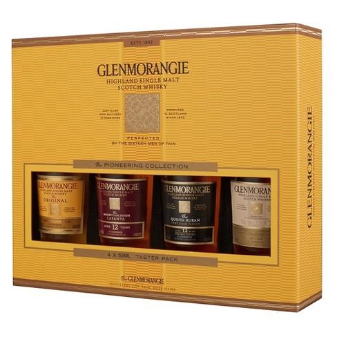 Glenmorangie Highland Single Malt Scotch Whisky Taster Pack - 4pk/100ml Bottles - image 1 of 2