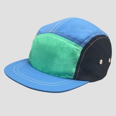 Baby Boys' Panel Hat - Cat & Jack™ Blue 12-24M