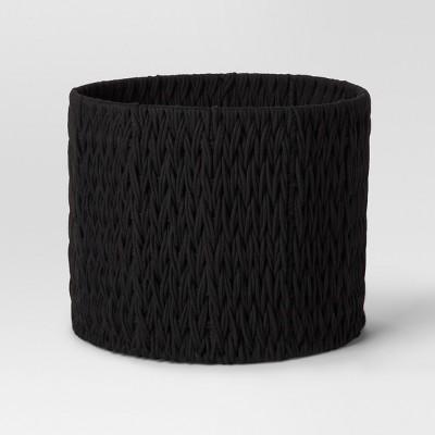 Round Woven Basket Medium- Black - Project 62™