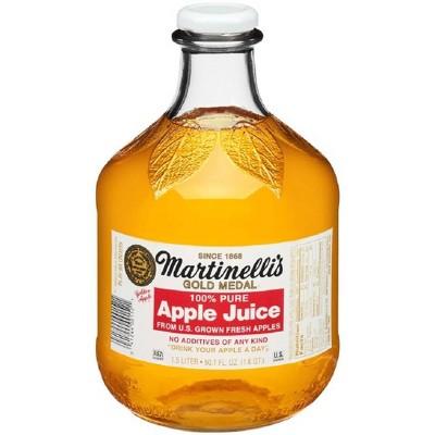 Martinelli's Apple Juice - 50.7 fl oz Glass Bottle