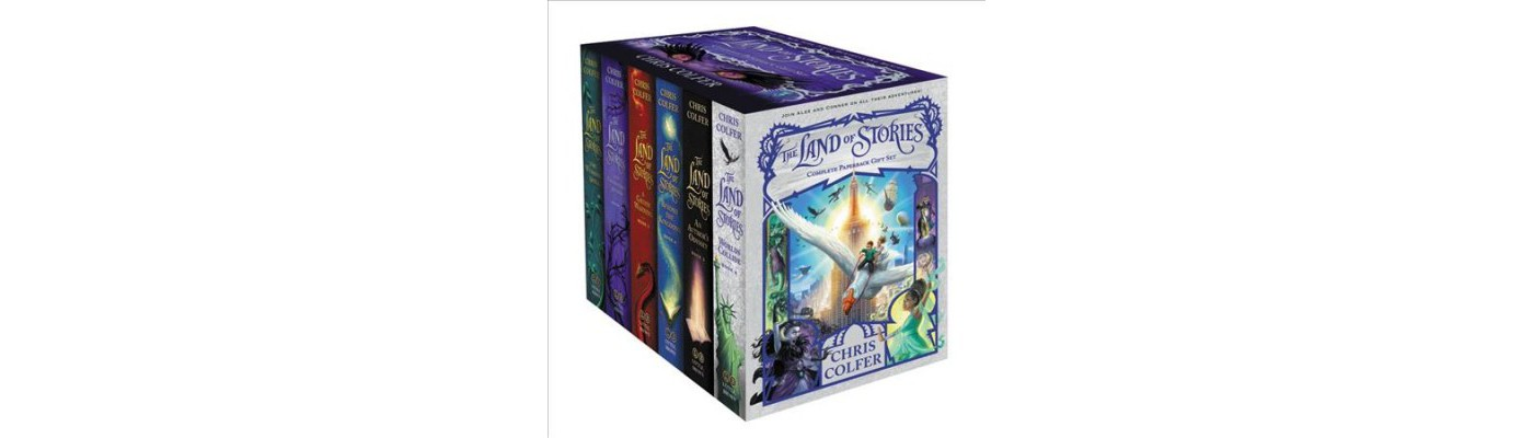 Land of Stories Complete Paperback Gift Set -  (Land of Stories) by Chris Colfer - image 1 of 1