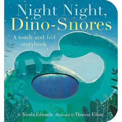 Night Night, Dino-Snores - by Nicola Edwards (Board Book)