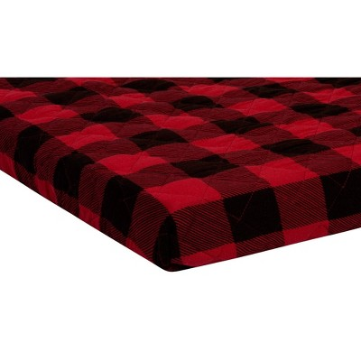 Trend Lab Playard Sheet - Buffalo Check