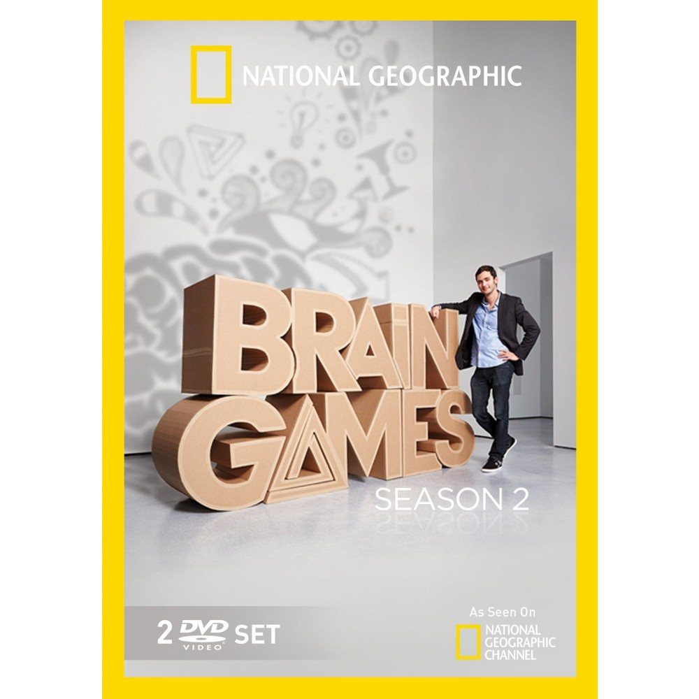 National Geographic: Brain Games - Season 2 (2 Discs) (dvd_video)