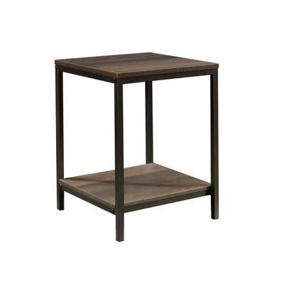 North Avenue Side Table Smoked Oak Finish - Sauder
